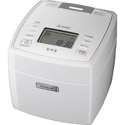世界有名な 三菱電機 IHジャー炊飯器 備長炭炭炊釜 5.5合炊き ピュアホワイト NJ-VV107(品), Collet Magasin eba2fc07