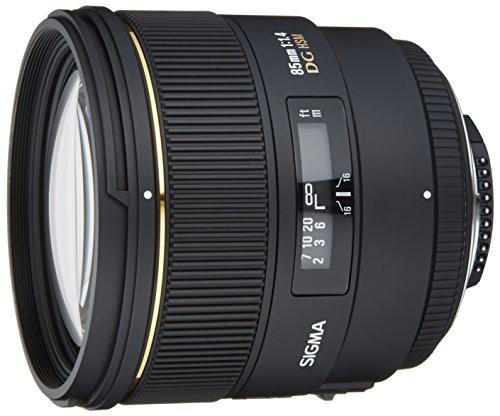 【高知インター店】 DG ニコン用 EX フルサイズ対応 3(品) 85mm HSM [キャッシュレス5%還元]SIGMA F1.4 単焦点中望遠レンズ-カメラ