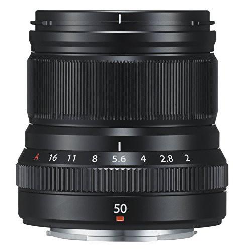 100%安い B ブラック(品) R XF50mmF2 WR [キャッシュレス5%還元]FUJIFILM 単焦点中望遠レンズ-カメラ