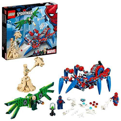 沸騰ブラドン レゴ(LEGO) スーパー・ヒーローズ スパイダーマンのスパイダー・クローラ (未使用の新古品), おさいふやさん f648edab