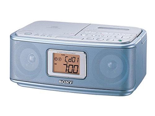 再再販! [キャッシュレス5%還元]ソニー FM/AM対応 CFD-E501 ブルー : SONY CFD(未使用の新古品) CDラジオカセットレコーダー-その他家電