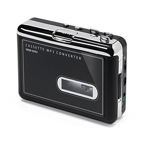 [キャッシュレス5%還元]サンワダイレクト カセットテープ MP3変換プレーヤー カセットテープデジタ(未使用の新古品)
