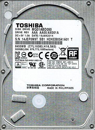 代引き人気 AAA GB aa00 ax001 aフィリピン(未使用の新古品) mq01abd050 / [キャッシュレス5%還元]Toshiba 500-その他パソコン・PC周辺機器