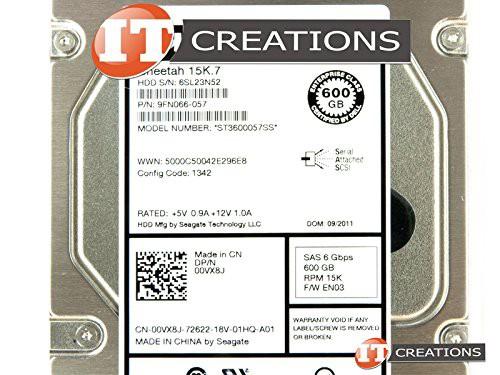 【はこぽす対応商品】 [キャッシュレス5%還元]Dell st3600057ss-dell 600 GB 15 K 6 6 K G LFF st3600057ss-dell SASハードドライブ(未使用の新古品), 名入れ彫刻ギフトのアトリエエイム:fef0c940 --- keles-montagen.de
