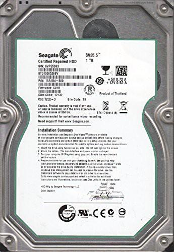 【予約】 3.(品) [キャッシュレス5%還元]st31000526sv、9?VP、TK、PN cv15、Seagate 1?aa154???500、FW 1tb SATA-その他パソコン・PC周辺機器