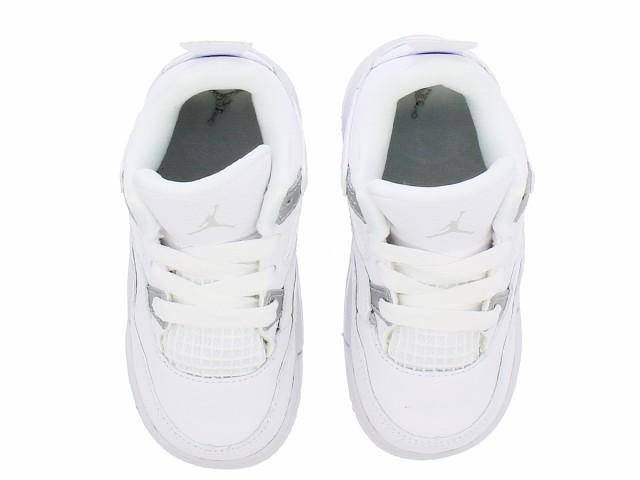 Nike Air Jordan 4 Retro Pure Money White Metallic Silver