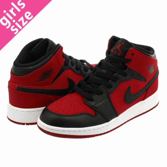 2018新入荷 GS RED/BLACK/WHITE AIR JORDAN GYM 1 NIKE MID-靴・シューズ
