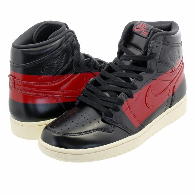 【良好品】 OG DEFIANT JORDAN AIR RETRO 【COUTURE】 BLACK/UNIVERSITY RED/MUSLIN NIKE 1 HIGH-靴・シューズ
