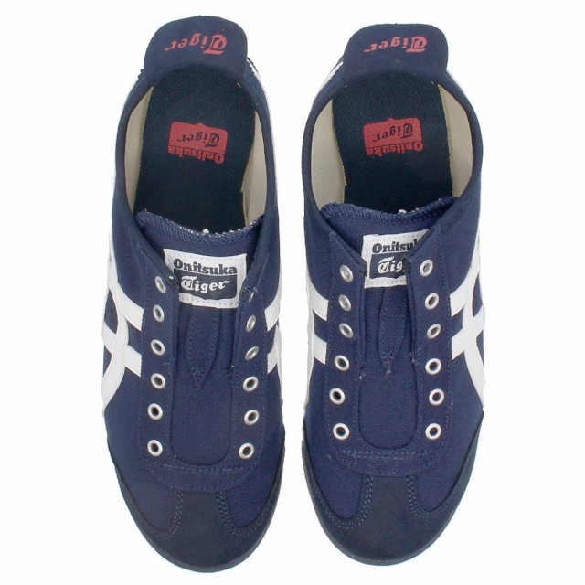 pretty nice 3e4f4 22a6a Onitsuka Tiger MEXICO 66 SLIP-ON NAVY/OFF WHITE|au Wowma!(ワウマ)