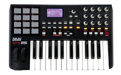 【お気に入り】 Akai Professional MIDIコントローラ(25鍵・12パッド) MPK25(品), トビシマムラ aae17b1a