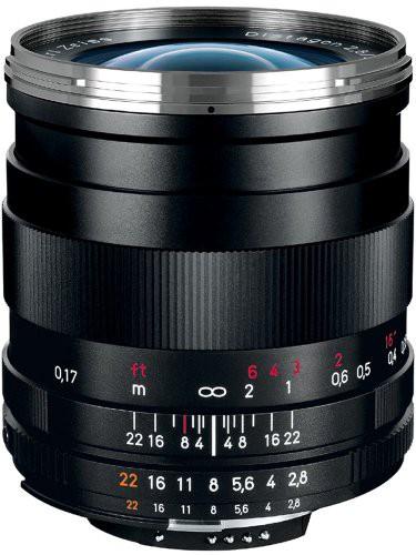 豪奢な ブラック T*2.8/25mm DISTAGON (ニコンCPU内蔵マウント対 (品) Carl Zeiss ZF.2-カメラ