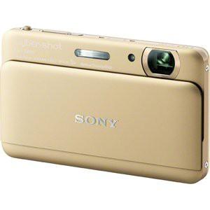 【激安アウトレット!】 Cyber-shot SONY ソニー TX55(1620万画素CMOS/光学x5) ゴールド(品)-カメラ