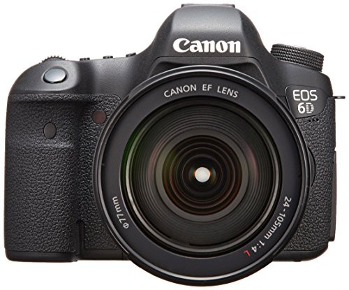 【国産】 EF24-105mm 6D Canon F4L レンズキット USM(品) EOS デジタル一眼レフカメラ IS-カメラ