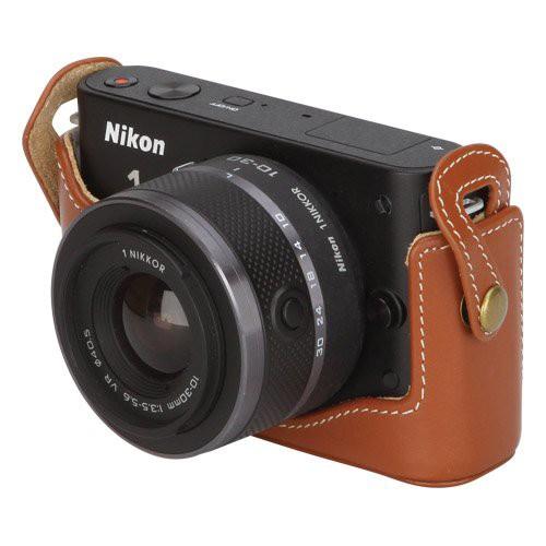 【まとめ買い】 HAKUBA 一眼カメラケース ホンガワボディケース 1 J2 ブラウン DBC-N1J2BR(品), ナガトロマチ ce83fc96
