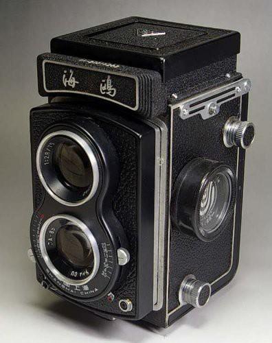 雑誌で紹介された 二眼レフカメラ ケース付き(品) Seagull 海鴎-カメラ