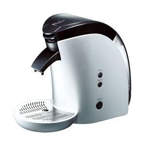 device STYLE蒸らし機能付き 1杯抽出型コーヒーメーカー(シルバー)DCR-60-S(品)