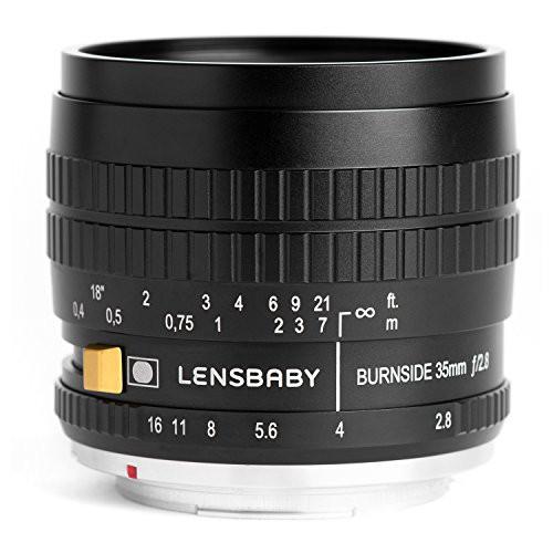【50%OFF】 フルサイズ対応(品) キヤノン Lensbaby EF用 35 Burnside 単焦点レンズ-カメラ