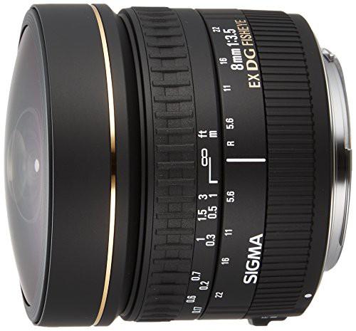 最高 DG SIGMA キヤノン用 EX 円周(未使用品) FISHEYE F3.5 8mm 単焦点魚眼レンズ CIRCULAR-カメラ