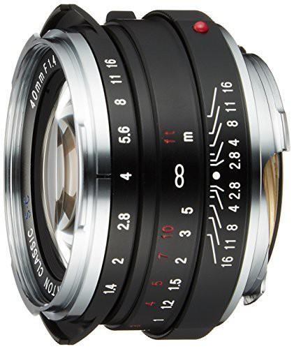 ラウンド  1315(未使用品) 40mm F1.4 単焦点レンズ NOKTON VoightLander S.C.単層コート classic-カメラ