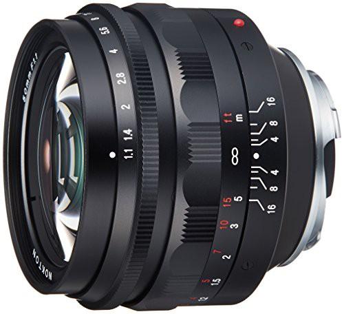 【メーカー直売】 単焦点レンズ VoightLander F1.1(未使用品) 50mm NOKTON-カメラ