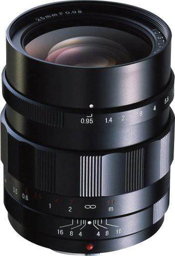 爆買い! 25mm NOKTON Micro 単焦点広角レンズ Thirds VoightLander マイ(未使用品) Four F0.95-カメラ