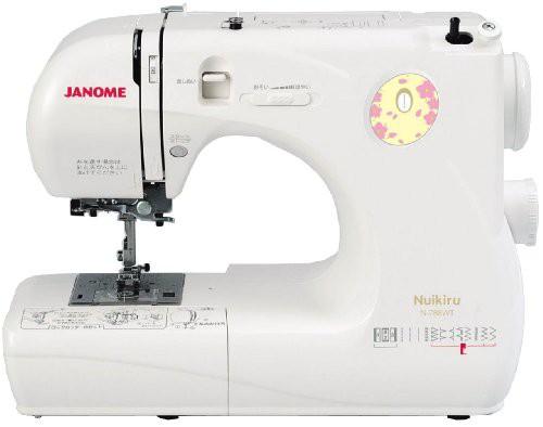 夏セール開催中 MAX80%OFF! ジャノメ N-788WT(未使用品) 電子ミシン【Nuikiru】 JANOME-その他家電