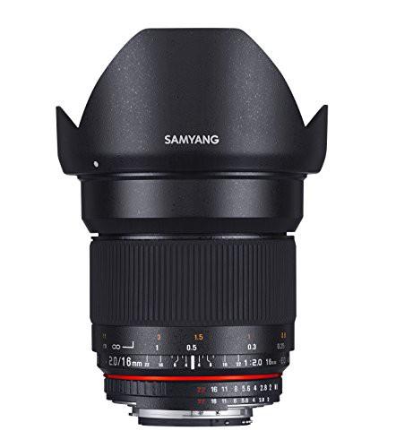2018セール APS-C用(未使用品) 単焦点広角レンズ キヤノン EOS M用 16mm SAMYANG F2.0-カメラ