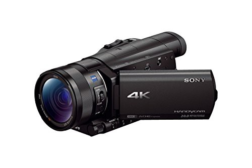 【新作入荷!!】 ソニー ビデオカメラ 4K 光学12倍 Handycam ブラック SONY FDR-AX100 FDR-A(未使用品)-ビデオカメラ