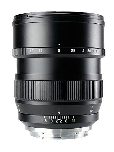 消費税無し F1.2 85mm 中一光学(ZHONG OPITCS) 単焦点レンズ SPEEDMASTER (キヤノン(未使用品) YI-カメラ