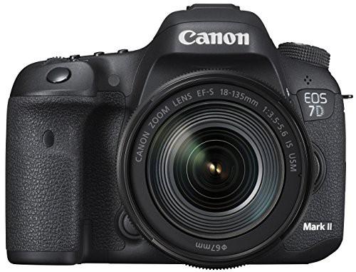 素晴らしい価格 デジタル一眼レフカメラ 7D MarkII Canon レンズキット EF-S18-135mmF3(未使用品) EOS-カメラ