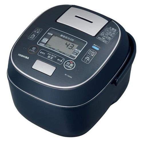 割引発見 東芝 真空圧力IHジャー炊飯器(5.5合炊き) インディゴブルーTOSHIBA 合わ (未使用品), 綾南町 191b8cdb