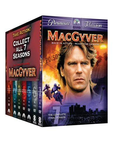 【大注目】 Macgyver: Complete Series Pack Gift Set [DVD] [Import](品), 現場の安全 標識保安用品 53b41305