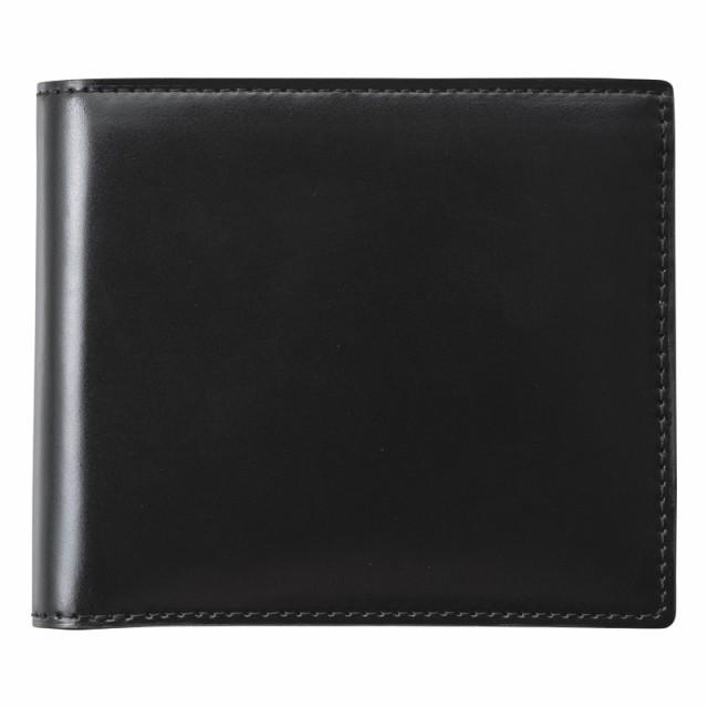 【一部予約!】 コードバン二つ折財布(ブラック) (S-NOM153102BK), 古着屋LowJack:3ab4c360 --- chevron9.de