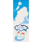 注染 手ぬぐい 金魚鉢と風鈴 [日本製] [和布華]