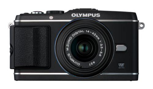 今年も話題の OLYMPUS ミラーレス一眼 E-P3 PEN E-P3 OLYMPUS レンズキット ブラック E-P3 LKIT ブラック BLK(品), US-NEXT:7dafeb4b --- kzdic.de