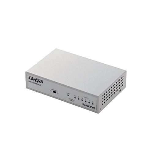 エレコム スイッチングハブ ギガビット 5ポート マグネット付き 電源内蔵 (品)