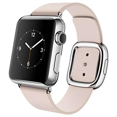 現品限り一斉値下げ! Apple Watch 38mm 38mm Apple ステンレススチールケースとソフトピンクモダンバックル (品), メープル レーン ゴルフ:001b46be --- flughafen-berlin-brandenburg-international.de