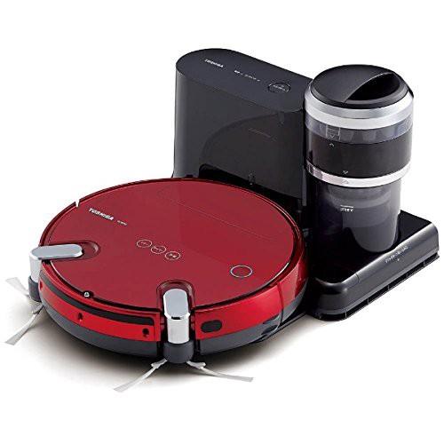 国内最安値! 東芝 ロボット掃除機 (グランレッド) TOSHIBA TORNEO ROBO(トルネオ ロボ) (品), 電電虫@web c30be1ee