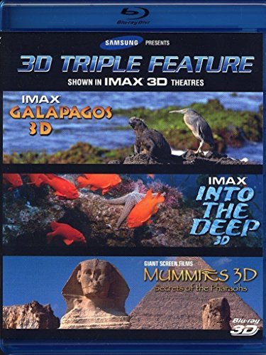 正規代理店 Samsung IMAX 3D Triple Feature: Galapagos, into The Deep, Mummies: Sec(品), 山武郡 ec597d53