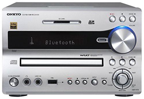 国内最安値! ONKYO NFR-9TX CD/SD/USBレシーバー Bluetooth/ハイレゾ対応 シルバー NFR-(品), ファイン パーツ ジャパン 9651e899
