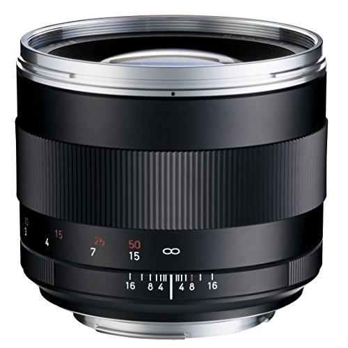 ★日本の職人技★ Zeiss Carl T*1.4/85 (キャノンEF)(品) Planar ZE-カメラ