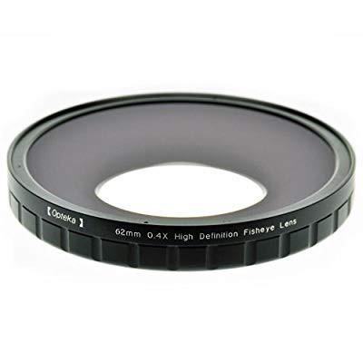 人気満点 Opteka 62?mm 0.4?X hd2大きな要素魚眼レンズレンズfor Sony hdr-fx7、hvr-(品), 綾瀬家具 efd13731