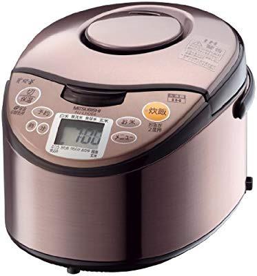 三菱電機 炭炊釜 IHジャー炊飯器 ロゼ 3.5合炊き NJ-LH064-R(品)