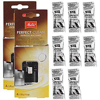【数量限定】 Melitta Perfect CleanコーヒーマシンDescalerクリーニングタブレット(8個 (品), KEYUCA d04aa6dd