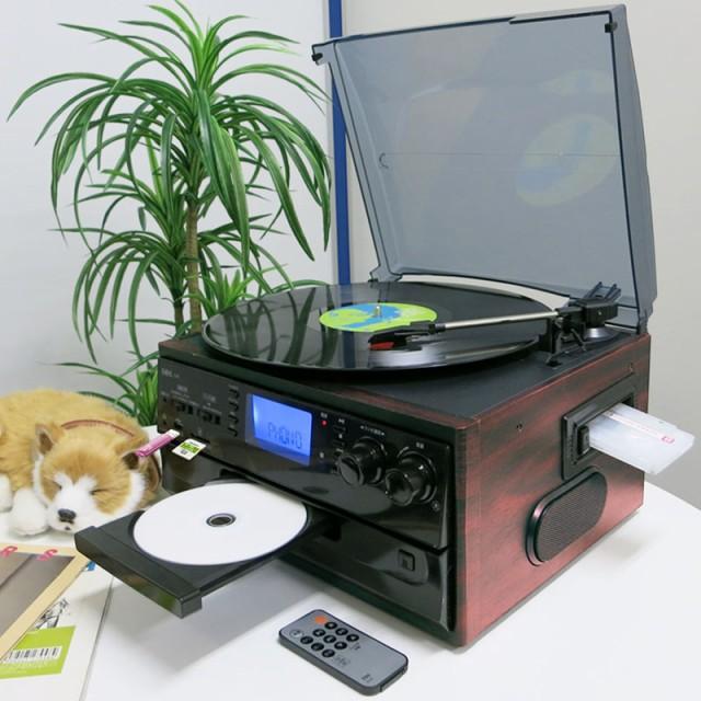 カセット/ CD/ ラジオ多用途型 レコードプレーヤー S-01 SBS