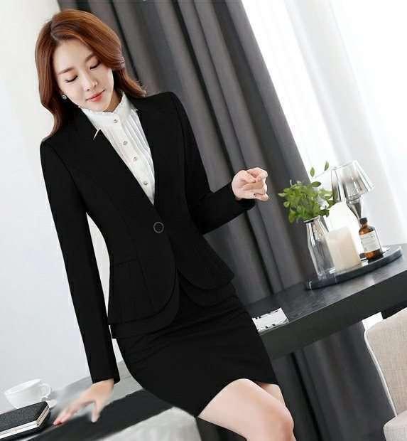 スーツ オフィス ジャケット スカート シャツ 3点セット タイトスカートセットアップ 無地 大きいサイズ S/M/L/XL/2XL/3XL