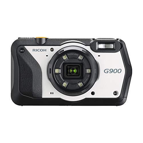 【期間限定お試し価格】 G900 防水20m 防塵 広角28mm 耐薬品 耐衝撃2.1m RICOH 防水デジタルカメラ (品)-カメラ