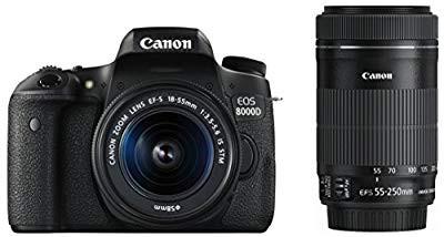 カウくる Canon Canon デジタル一眼レフカメラ EOS EOS 8000D ダブルズームキット EF-S18-55mm 8000D/(品), 高勝徳2号店:17b0597e --- kzdic.de