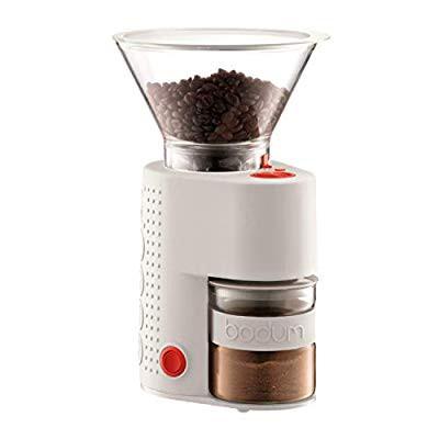 人気を誇る bodum BISTRO 電気式コーヒーグラインダー オフホワイト 10903-913JP( 未使用の新古品), ハクバムラ 39bbefdc