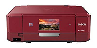 お気に入りの EPSON プリンター インクジェット複合機 レッド( カラリオ EP-808AR EPSON レッド( プリンター 未使用の新古品), 上新川郡:85d3e953 --- kzdic.de